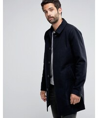 Only & Sons - Trenchcoat aus Wolle - Marineblau