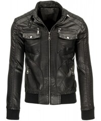 Pánská bunda Jeno černá - černá