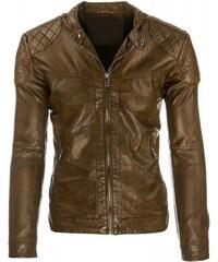 Pánská bunda Mocasino zlatá - zlatá