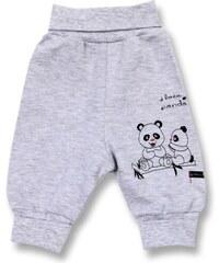 Lafel Dětské tepláky Panda - šedé