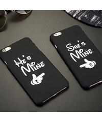 Lesara Pärchen-Hülle für Apple iPhone 5/6/6 Plus Mine - Für Herren - Iphone 6 / 6s