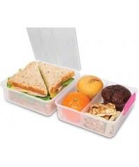 Sistema Velký box na oběd, 1,4 l - růžový