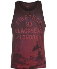 Módní tílko Firetrap Blackseal Statue Muscle pán.