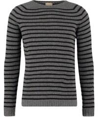 120% Cashmere Strickpullover grey/black