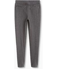 Esprit Pantalon en jersey lourd à poches zippées
