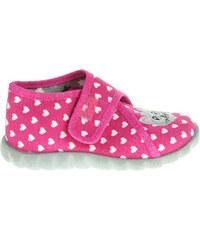 Befado dívčí bačkory 455P040 růžové