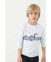 Mango Kids - Dětské tričko s dlouhým rukávem Viaje