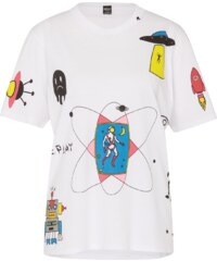 REPLAY T Shirt mit Space Print