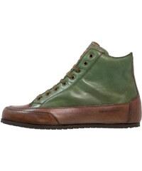 Candice Cooper Sneaker high tamponato verde scuro