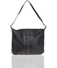 Sac façon cuir gros grain clous Noir Synthetique (polyurethane) - Femme Taille T.U - Cache Cache
