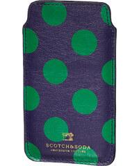 Scotch&Soda kožené puntíkované pouzdro na telefon