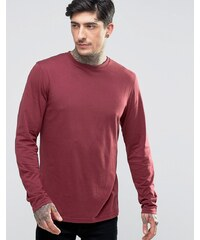 Another Influence - T-shirt manches longues - Rouge