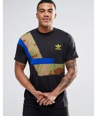 Adidas Originals - AY9263 - T-shirt color block - Noir