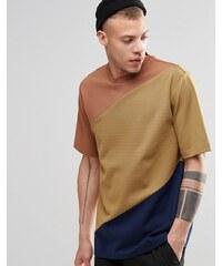 Weekday - Danger - T-shirt style coupé-cousu - Jaune - Jaune