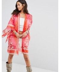 Anna Sui - Kimono, exclusivité ASOS - Rose