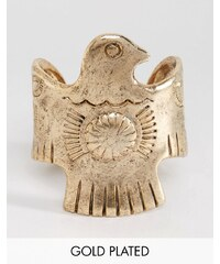 Low Luv - Bracelet aigle en plaqué or - Doré