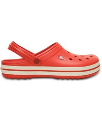 Crocs Crocband Flame/White