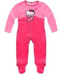 Hello Kitty Babyanzug pink in Größe 3M für Mädchen aus 80% Baumwolle 20% Polyester