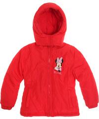 Disney Minnie Winterjacke rot in Größe 104 für Mädchen aus 100 % Polyester
