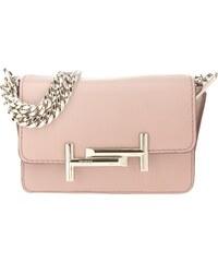 Tod's Sacs à Bandoulière, Amu Pattina Tracolla Easy Mini Leather Crossbody Bag Pink en rose pâle