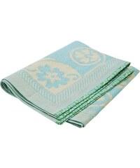 Rice Plastový koberec Blue/Cream 120x180 cm