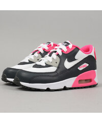 Nike Air Max 90 Mesh (PS) anthracite / white - hyper pink