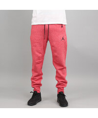 Jordan Icon Fleece WC Pant melange červené (basketbal)