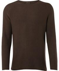REVIEW Pullover aus Baumwolle mit Raglanärmeln