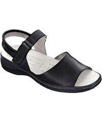Große Größen: Sandale, Gabor, schwarz, Gr.4,5-8