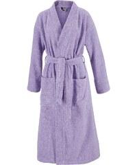 Große Größen: Unisex-Bademantel, Egeria, »Topas«, in Kimonoform, lavendel, Gr.S-M
