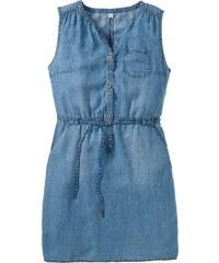 Große Größen: by s.Oliver Jeans-Kleid, blau, Gr.46-50