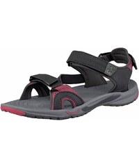 Große Größen: Jack Wolfskin Lakewood Cruise Sandal W Outdoor-Sandale, Anthrazit-Pink, Gr.37-43