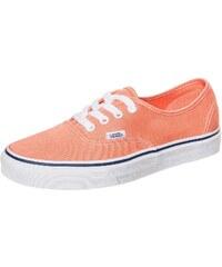 Große Größen: VANS Authentic Sneaker, koral / weiß, Gr.4.5 US - 36.0 EU-9.0 US - 42.0 EU