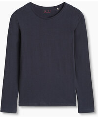 Esprit T-shirt basique manches longues coton bio