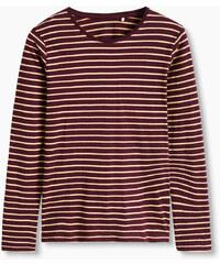 Esprit T-shirt ML rayé en coton bio