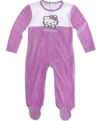 Hello Kitty Babyanzug violett in Größe 3M für Mädchen aus 80% Baumwolle 20% Polyester