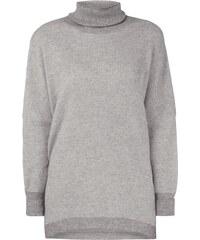 Delicate Love Oversized Rollkragen-Pullover mit Kaschmir-Anteil