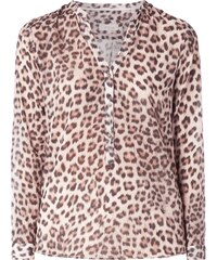 Emily Van den Bergh Blusenshirt mit Leopardenmuster