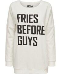 ONLY Lässig bedrucktes Sweatshirt