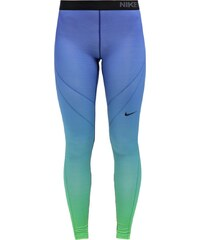 Nike Performance HYPERWARM Tights light green spark/deep royal blue/black