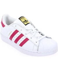 Baskets Enfant fille Adidas Originals en Cuir Blanc