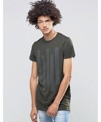 Systvm - Cato - T-Shirt in Khaki - Grün