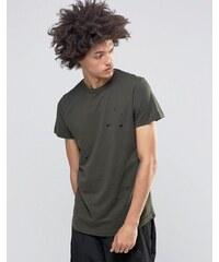 Systvm - Sike - T-shirt vieilli - Vert