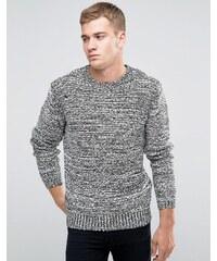 Religion - Pullover mit Rippen am Arm - Weiß
