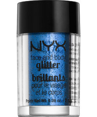 NYX Blue Face & Body Glitter Körpergel 2.5 g