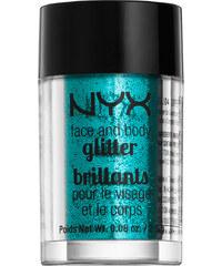 NYX Teal Face & Body Glitter Körpergel 2.5 g