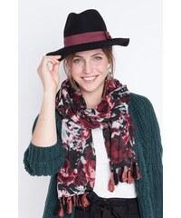 Chapeau femme borsalino ruban Noir Laine - Femme Taille TU - Bonobo