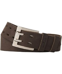 TOM TAILOR Gürtel »leather belt with two prongs«