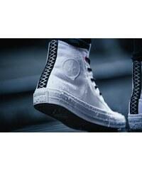 Converse All Star Ii Shield Canvas Hi Sneaker Schuhe white/lava