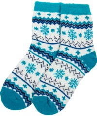 Yaktrax Chaussettes Chaussettes Aloe Cabin Turquoise Femme